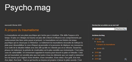 Mon blog psychomag, articles, analyse transactionnelle, psychologie